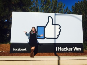 Pinching myself that I get work at Facebook!