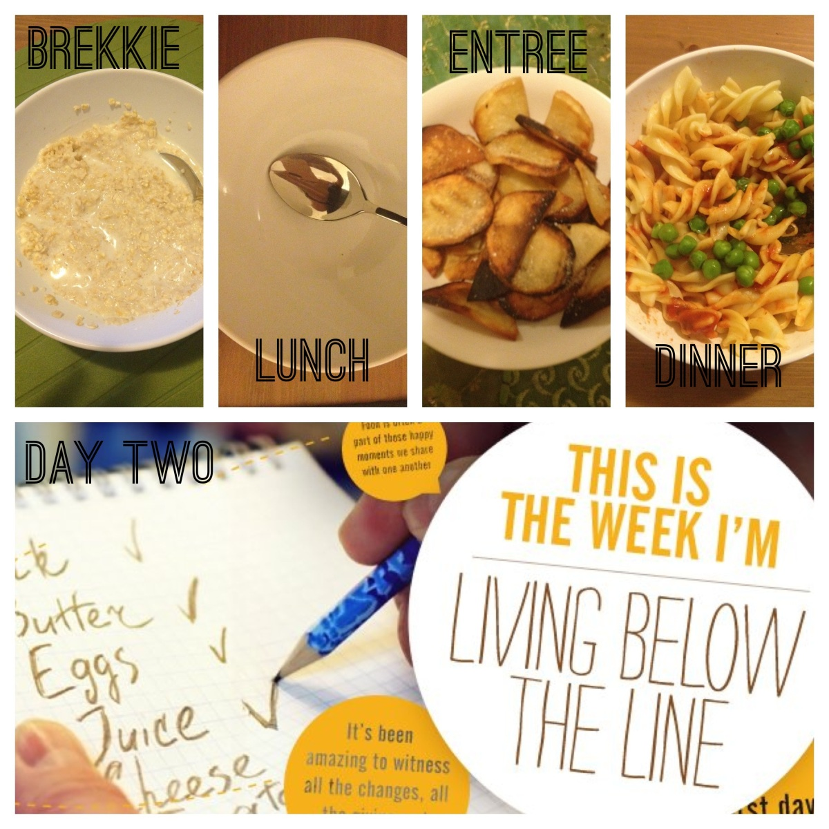 Living Below the Line - Day Two