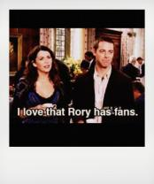 Rory has fans
