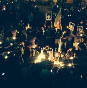 A memorial for Reza