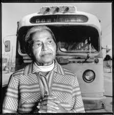 Rosa Parks led an incredible movement against racial discrimination on public transport in 1955. Photo credit: www.rosaparksfacts.com