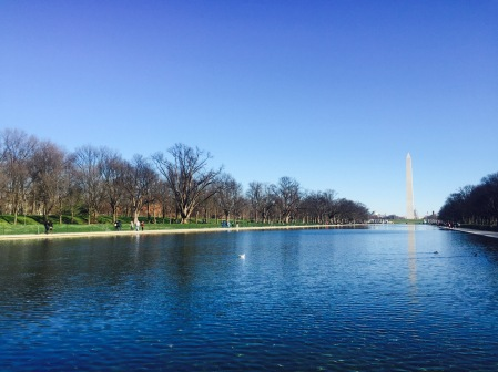 Reflection Pool and Washington Monument