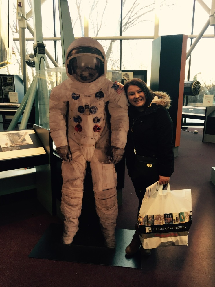 I met my own astronaut!