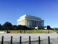 Lincoln Memorial on a beautiful crip DC morning