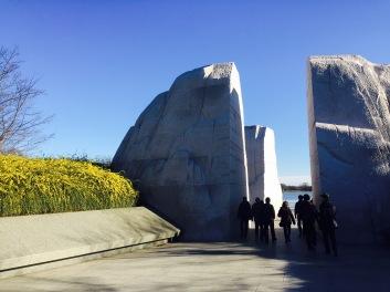 Entry to MLK Jr Memorial