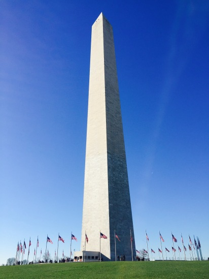Washington Monument - much taller than anticipated!