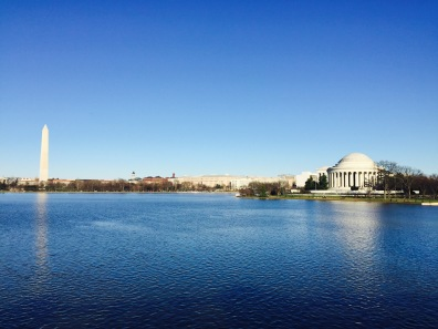 Washington Monument, Tidal Basin and Jefferson Memorial
